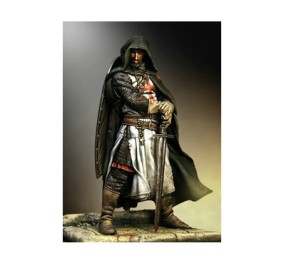 Resin-Model-His-sword-of-the-Knights-Templar-90-mm-Free-Shipping