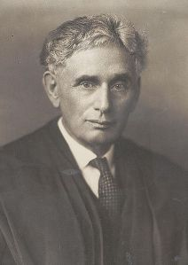 Justice Louis Brandeis  cir 1916  Source:  Library of Congress Prints and Photographs Division, LC-USZ62-31230