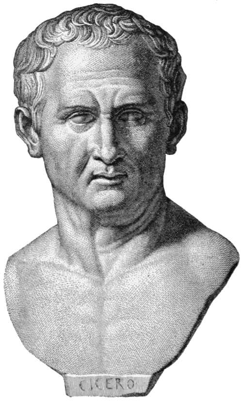 Marcus Tullius Cicero (3 January 106 BC – 7 December 43 BC Roman philosopher, politician, lawyer, orator, political theorist, consul and constitutionalist. He came from a wealthy municipal family of the Roman equestrian order, and is widely considered one of Rome's greatest orators and prose stylists.
