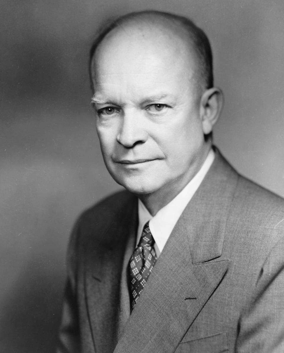 Pres Dwight D. Eisenhower