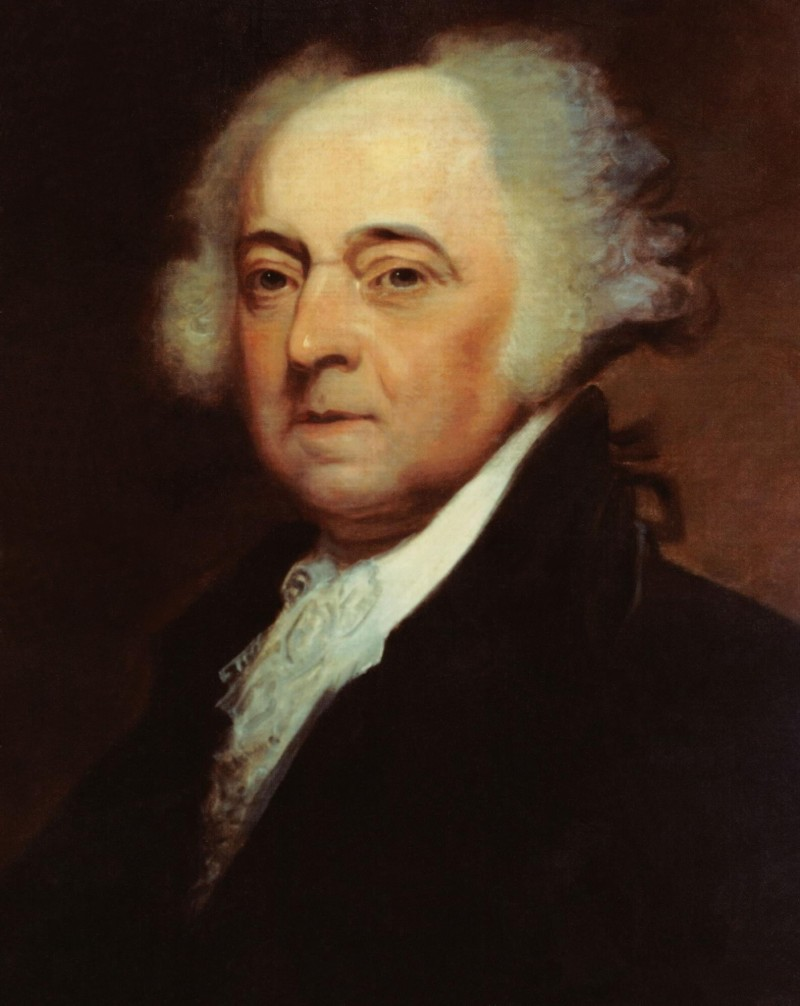 Pres John Adams 1735-1826  Painting by Asher B. Durand Photo credit: National Archives